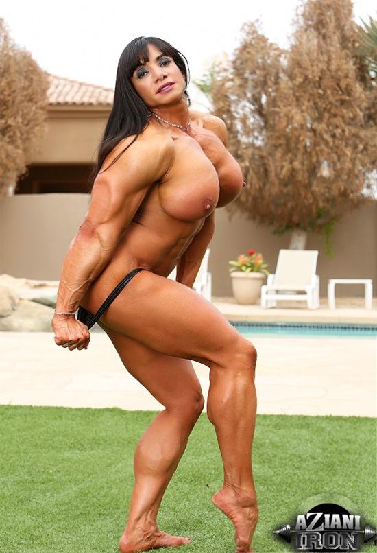 Female bodybuilder marina lopez hot amp hard female muscle 7