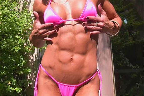 Fitness Bikini Goddess Tara Scotti shows off her cute six pack from wonderful katie morgan