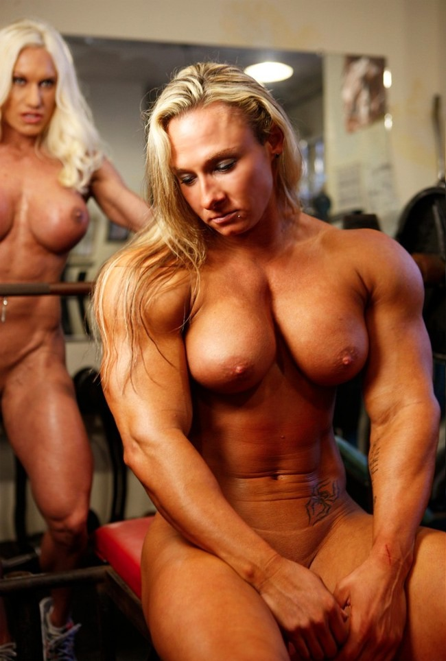 Properties turns Naked muscle eropa women good